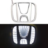3D логотип Honda (Хонда) 98х80мм с белой подсветкой