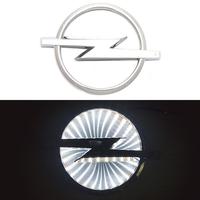 3D логотип Opel (Опель) 130х97мм с белой подсветкой