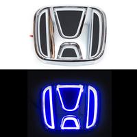 5D логотип Honda (Хонда) синий 90х75mm