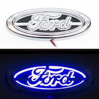 5D логотип Ford (Форд) синий 145х55мм