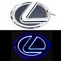 5D логотип Lexus (Лексус) синий 125х90mm