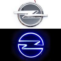5D логотип Opel (Опель) синий 135х100mm