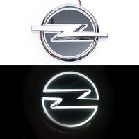 5D логотип Opel (Опель) белый 135х100mm