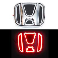 5D логотип Honda (Хонда) красный 90х75mm