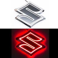 5D логотип Suzuki (Сузуки) красный 105х95mm