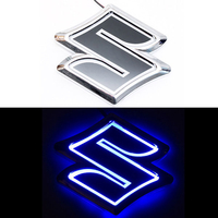 5D логотип Suzuki (Сузуки) синий 105х95mm