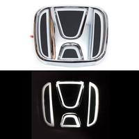 5D логотип Honda (Хонда) белый 90х75mm