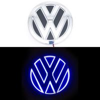 5D логотип Volkswagen (Фольксваген) синий 110мм