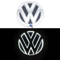 5D логотип Volkswagen (Фольксваген) белый 110мм