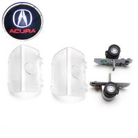 Штатная подсветка дверей с логотипом Acura - Акура - тип 1 - 2 шт
