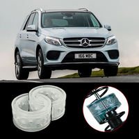 Межвитковые проставки в пружины - уретановые баферы на Mercedes Benz GLE-klasse I (W166) 2015-2018