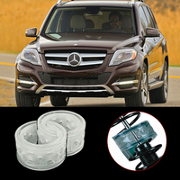 Межвитковые проставки в пружины - уретановые баферы на Mercedes Benz GLK-klasse I (X204) рестайлинг 2012-2015