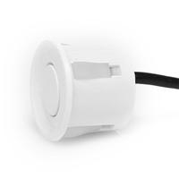 Датчик парковочного радара белого цвета 22 мм провод 2,2 м