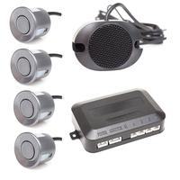 Парктроник звуковой без дисплея 4 датчика серый металлик ParkAWay E-4G-ZV