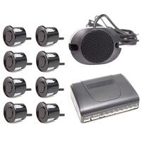 Парктроник звуковой без дисплея 8 датчиков черные ParkAWay E-8B-ZV