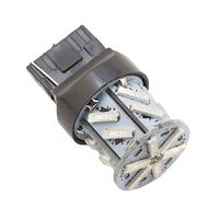 Светодиодная лампа 18 SMD 7014 7440 W21W желтая
