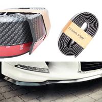 Сплиттер на бампер авто Samurai черный карбон