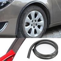 Резиновая защита - расширение арок крыльев авто Samurai универсальная 4D карбон - 2 шт по 120 см