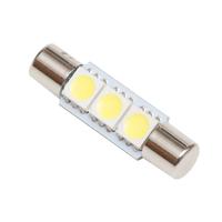 Светодиодная лампа T6.3 3 SMD 5050 29-31мм