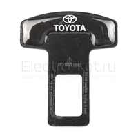 Заглушка ремня Steel Lock с логотипом Toyota (Тойота)