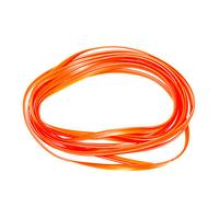 Декоративная лента в салон автомобиля оранжевая