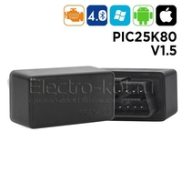 Адаптер ELM327 bluetooth 4.0 mini 1.5 чип PIC18F25K80