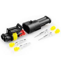 Разъем автомобильный ElectroKot герметичный штекер-гнездо DJ7021-1.5-11/21 2 контакта