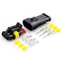 Разъем автомобильный ElectroKot герметичный штекер-гнездо DJ7031-1.5-11/21 3 контакта