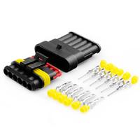 Разъем автомобильный ElectroKot герметичный штекер-гнездо DJ7061-1.5-11/21 6 контактов