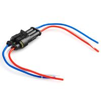 Разъем автомобильный ElectroKot герметичный штекер-гнездо DJ7031-1.5-11/21 с проводами 3 контакта