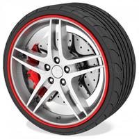 Wheel Pro лента для защиты 4-х дисков красная