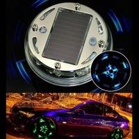Беспроводная подсветка дисков RGB ver 2.0 - комплект на 4 колеса
