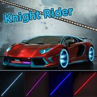 Светодиодная рейка Рыцарь дорог (Knight Rider) 48 RGB SMD 5050
