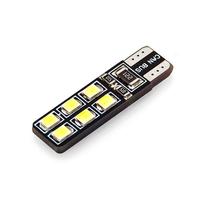 Лампа светодиодная 12 LED SMD 2835 с обманкой Т10