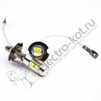 Светодиодная лампа 10 SMD 5630 с цоколем H3