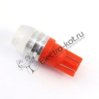 Красные лампы рассеивания T10 (W5W)