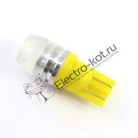 Желтые лампы рассеивания T10 (W5W)