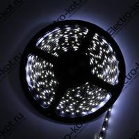 Светодиодная лента герметичная белая 12V 60 LED SMD3528