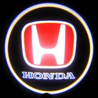Проекция логотипа Honda (Хонда) красная Premium 32x19 mm 7W - 2 шт