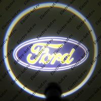 Проектор логотипа Ford (Форд) Premium 32x19 mm 7W - 2 шт
