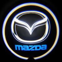 Проектор логотипа Mazda (Мазда) Premium 32x19 mm 7W - 2 шт