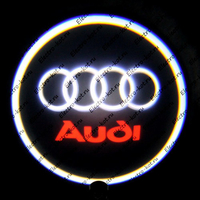 Проектор с маркой логотипа Audi (Ауди) Premium 32x19 mm 7W - 2 шт