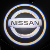Проектор с маркой логотипа Nissan (Ниссан) Premium 32x19 mm 7W - 2 шт