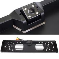 Камера заднего вида в рамке номерного знака SeeMore CMOS с LED подсветкой