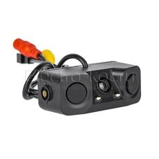 Парктроник с камерой и звуковым оповещением 2 датчика черный