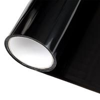 Тонировка фар темно черная виниловая 100 х 30 см