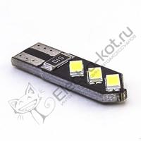 Светодиодная лампа 6 SMD 5630 T10 - W5W EuroLight