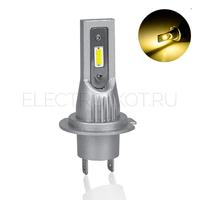 Диодная лампа головного света Atomic CSP 3000K цвет галогена H7
