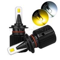 Светодиодные лампы двухцветные Razor II 12 CSP белый 5000K/желтый H7 2 шт
