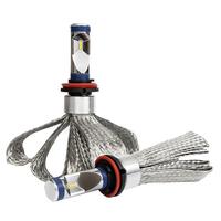 Светодиодные лампы H11 чипы G9 ZES 4000K комплект - 2 шт